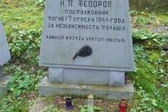 Grób ppłk Nikołaja Fiodorowa